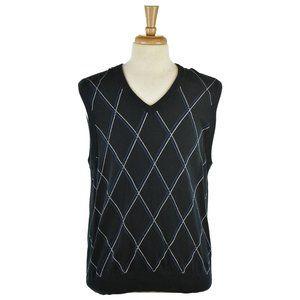 Express Design Studio Sweater Vests XL Brown